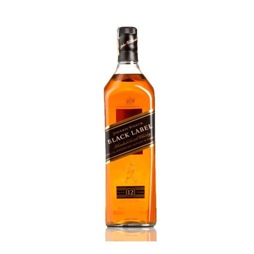 Imagen de JOHNNIE WALKER ETIQUETA NEGRA WHISKY LITRO - 1000ml