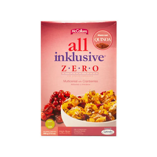 Imagen de CEREAL ALL INKLUSIVE ARANDANOS ZERO MCCALLUMS - 500g
